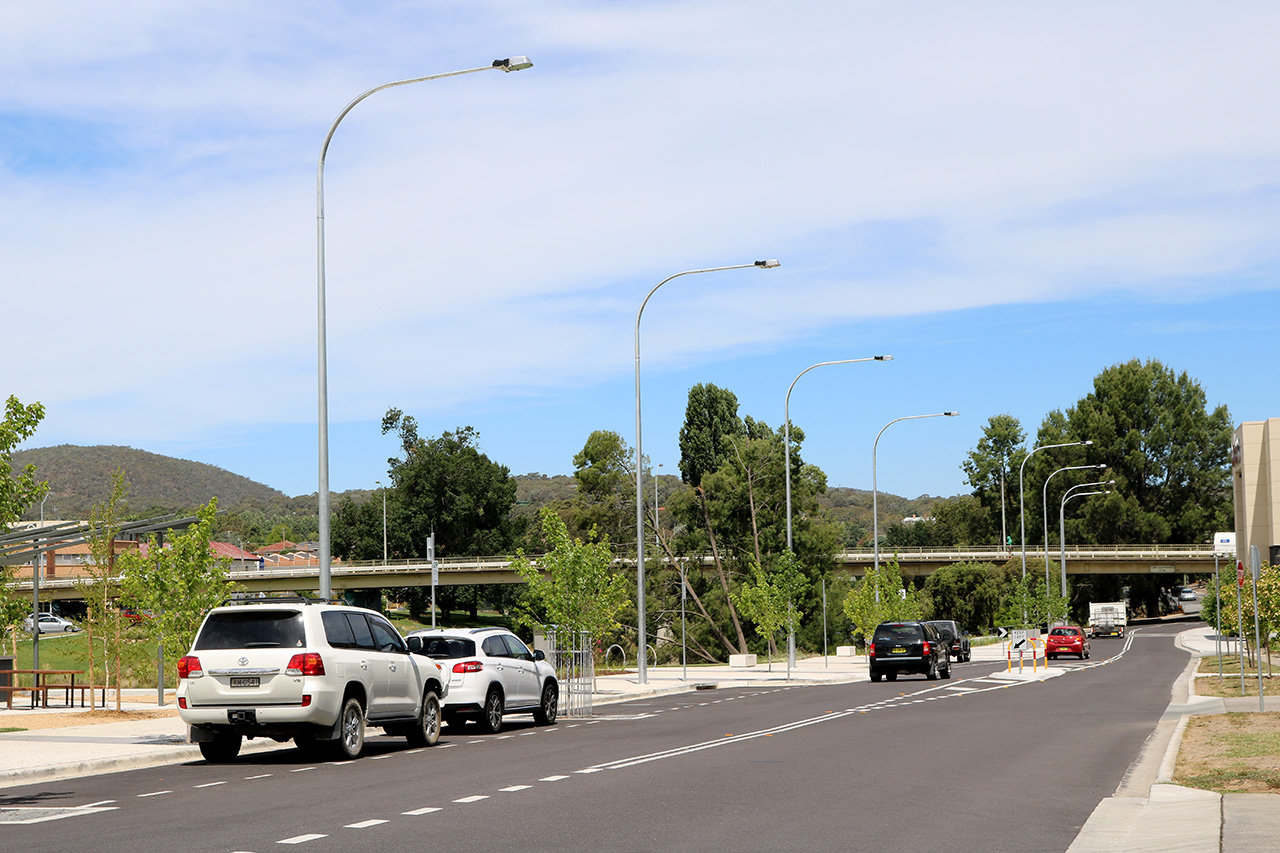 Queanbeyan Council Streetlighting